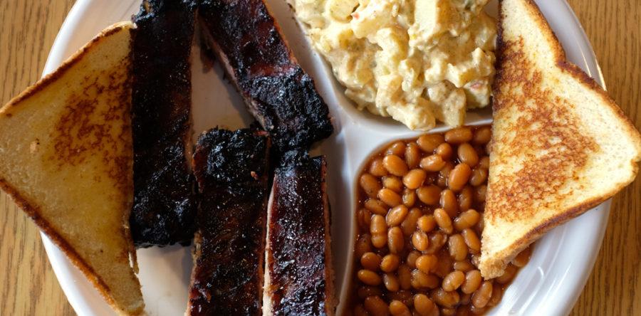 1/4 Rib Dinner Plate